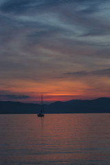 tramonto ligure (freguggin2010) Tags: nikon italia mare sole sestri