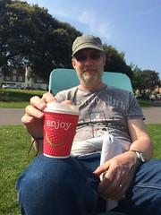 Enjoy - a Cuppa! (Jainbow) Tags: canoelake portsmouth southsea cup tea tim jainbow