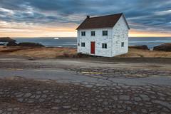 Abandoned in Elliston NL (B.E.K.) Tags: ocean road cloud house abandoned newfoundland iceberg nl cracks elliston nikon173528 nikond800