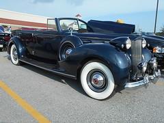 1938 Packard Twelve Model 1908 Phaeton (splattergraphics) Tags: 1928 twelve packard 1908 phaeton cruisenight glenrockpa marketsatshrewsbury