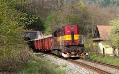 742.125 Mn 87871, achtick tunel (Martin Majtn) Tags: diesel cargo 121 tunel mn 742 kd cachtice kocur 87871 achtice visnove sr zsskc viov 742125