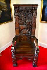 England 2016  Hatfield House  Chair (Michiel2005) Tags: uk greatbritain england chair unitedkingdom britain hatfield stoel hatfieldhouse hertfordshire woodcarving engeland vk houtsnijwerk grootbrittanni verenigdkoninkrijk