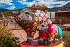 Cutesy Sedona (Elespics) Tags: arizona statue sedona