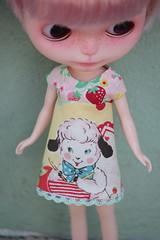 Sweet sheep a-line dress