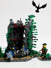 Abandoned Tower Part 2 (Julius No) Tags: 2 black tower abandoned lego part hunter falcons guilds historica