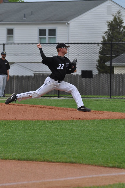 Senior David Hatt became the first Wildcat to earn East Region Pitcher of the Year according to any organization, doing so in the Daktronics All-East Region selections in 2013. Photo credit: Ellen O'Brien, CACC