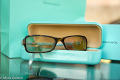 Tiffany Blue (Myra Golden) Tags: glasses spectacles tiffanyco tiffanyblue myragolden myragoldenphotography
