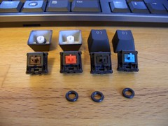 Max Key Sampler (chrispynutt) Tags: cherrymx keycaps orings