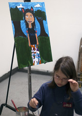 Draw, Paint, Sculpt. (PNCA YOUTH PROGRAM) Tags: selfportrait art college youth watercolor painting portland creativity mixedmedia sketchbook clay printing program printmaking portlandoregon sketchbooks makingart artschool glazing pnca childrensart papersculpture makingthings artmaking continuingeducation greatart artanddesign artbykids artbychildren communityeducation communityprogram pncace kidsmakingart makingartwithkids pacificnorthwestcollegeofarteastportlandflyers printmakingwithkids goodarteducation