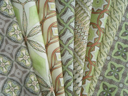 Celeriac fabric collection