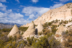 Kasha-Katuwe Tent Rocks (Michael Deleon Photo) Tags: winter favorite newmexico clouds afternoon unitedstates geology rockformations kashakatuwetentrocksnationalmonument jemezsprings