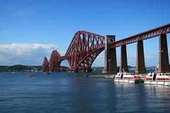 Forth Bridge Edinburgh (hrs51) Tags: uk bridge train scotland edinburgh eisenbahn railway zug forth gb brücke bahn firth schottland