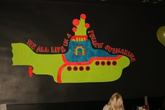 Yellow Submarine (theninjavampire) Tags: black yellow diner submarine