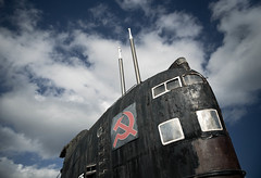 Russian submarine (Philippe sergent) Tags: abandoned submarine blackwidow ussr urss sousmarin u475