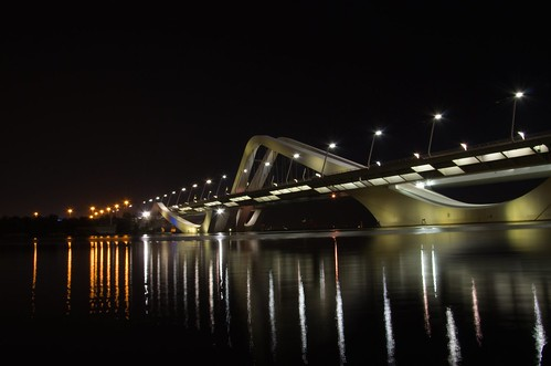 Sheikh Zayed Bridge 2 ©  Still ePsiLoN