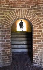 Alien Portal (Francine Schumpert) Tags: light wall arch florida bricks alien steps tunnel walkway ftclinchstatepark nikond5100