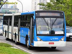 6 1990 DSC_0724 (busManíaCo) Tags: bus buses millennium mercedesbenz ônibus articulado busmaníaco viaçãocidadedutra caioinduscar o400upa
