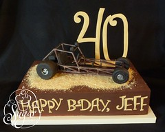 dune buggy cake (RebeccaSutterby) Tags: birthday cake dune buggy