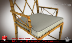 | MESHWORX | - Macau Bamboo Collection Tables and Chairs [ Natural ] exclusively at FaMeshed through August 2013 (MESHWORX [ by Loz Hyde]) Tags: vintage industrial chairs maya mesh bamboo secondlife decorating tables artdeco interiordesign builder midcentury homegarden urbanchic comtemporary modernclassic virtualhome meshlights meshchair virtualfurniture lozhyde meshworx meshsofa meshcreations fameshed meshbuild meshbuilding meshbuilder mesh3dmodeling meshlamps meshcreator secondlife3dmodeling contempraryclassic secondlifemeshbuilder meshbamboo
