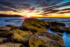 Bronte beach Sunrise (SydneyLens) Tags: longexposure seascape sunrise sydney australia lensflare nsw hdr 2013 hdrphotography nswgateway