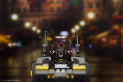 Cruising (squesada70) Tags: night toys lego cruising batman batmobile