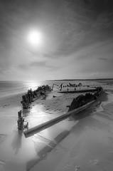 The Constance Ellen (solidtext) Tags: beach water sunrise ellen ship south tyne shipwreck southshields constance shields sandhaven tokina1116f28 nikond7000