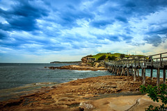 La Perose (**James Lee**) Tags: ocean bridge seascape beach landscape bay coast harbor sydney australia nsw laperose