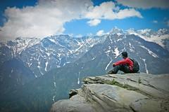 Patalsu trek (Sougata2013) Tags: people india nature relax himalaya manali himachal himachalpradesh solangvalley patalsu patalsutrek