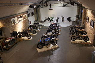 Kevils Speed Shop at The Bikeshed Event ll