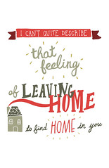 leavinghome (catherine.roach) Tags: handwriting poster typography design graphic haiku type typo handdrawn handrawn society6