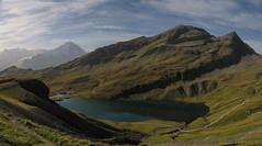 Bachalpsee mit Reeti und Simelihorn (miwiget) Tags: berge grindelwald alpen wandern berner interlaken oberland bachalpsee simelihorn reeti