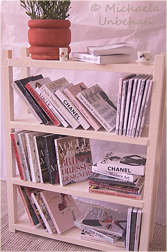 books made by me, bookshelf made by FashionRoyaltyLj