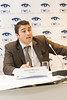 "Jacopo Moccia at the press conference, EWEA launches new report 'Where's the money coming from? Financing offshore wind farms | <a style=""font-size:0.8em;"" href=""http://www.flickr.com/photos/38174696@N07/10962848533/sizes/o/"" target=""_blank"" class=""download"">Download high-res</a>"