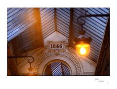 1846 (heritagefutures) Tags: camera paris france sign architecture project french nikon antique age ser sha passage simulator arrondissement d800 9me hexar f35 1846 couvert parisien iia 20cm verdeau rokuoh