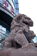 20140110E01 (Chinesejoy) Tags: china street building eye sign rock stone canon emblem 50mm still power scope mark flag authority watch chinese lion surface national beast token gaze regard symbolize signify