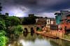 Durham (Tony Shertila) Tags: bridge england mill water rain weather river europe day durham britain wear rainy hdr countydurham mygearandme