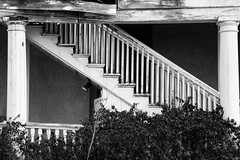 Stairs (Kathy~) Tags: bw blackandwhite stairs steps fortbayard newmexico white friendlychallenges favescontestwinner herowinner instagram