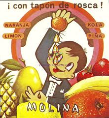 Carbónicas Molina. ¡Con tapón de rosca! Años 80