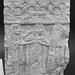 Semicircular funerary monument from Poggio Gaiella (2): three lamenting women