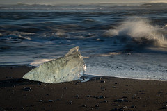 "Jökulsárlón Beach, Iceland • <a style=""font-size:0.8em;"" href=""https://www.flickr.com/photos/21540187@N07/12933087784/"" target=""_blank"">View on Flickr</a>"