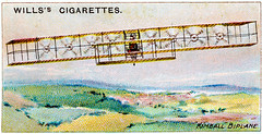 The eight propeller biplane of Wilbur R. Kimball in imaginary flight [1909] (Kees Kort Collection) Tags: biplane kimball 1909