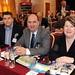 Tom Randles, Sean O'Driscoll and Bernadette Randles
