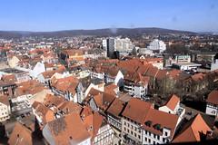 Blick von der Marktkirche auf Hameln 08 (Stefan_68) Tags: city roof germany deutschland town stadt dach hamelin niedersachsen lowersaxony hameln