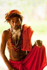 sdhu (Luca Amorosi) Tags: red portrait india rosso ritratto holyman khajuraho ritrattiportraits sdhu