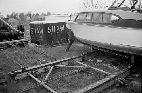 in Shaw's Boat Yard