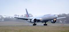 Air France Boeing 777-328ER F-GSQR Arrival (Mark 1991) Tags: france edinburgh air boeing 777 edi airfrance edinburghairport fgsqr