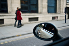 Drive by shooting.... (Dafydd Penguin) Tags: street city uk england people blur car by 35mm bristol drive mirror nikon shot britain centre mini explore shooting f2 nikkor d600