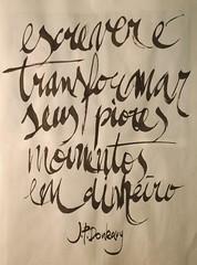 Donleavy (Ivan Jernimo) Tags: brazil india ink calligraphy sumi portuguese caligrafia nanquim