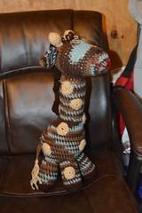 Angela Alcorn, meet Spice (The Crochet Crowd) Tags: mikey giraffe redheart crochettoy mysteryadventure freeamigurumipattern mysterycrochetalong thecrochetcrowd michaelsellick freeonlinetutorial thecrochetcrowdcrochetalong freegiraffecrochetpattern freecrochetvideo