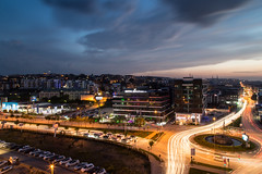 Bursa Citylights (tsdtsdtsd) Tags: city topv111 night canon turkey türkei citylights lighttrails bursa 6d